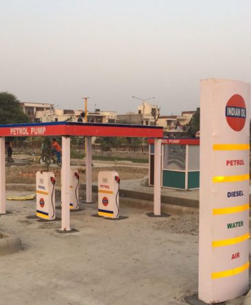 Model of Petrol pump