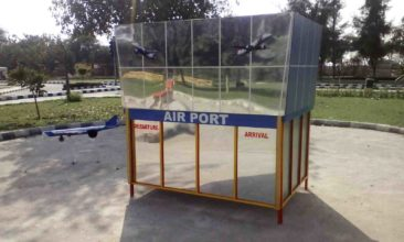 model of air port athenaartarena v.p.verma, children's traffic park Panipat