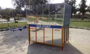 model of air port athenaartarena v.p.verma, children's traffic park Panipat