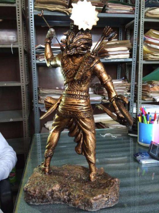 Lord Karna, v.p.verma, Kurukshetra, Kurukshetra art