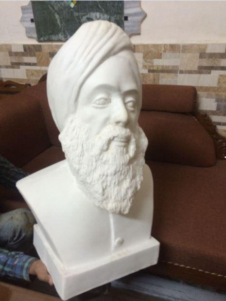 Sikh Statue, V.P.Verma Statue, Athenaartarena