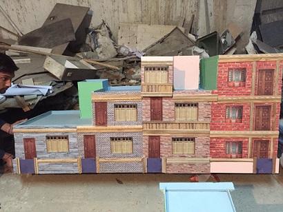 Model of windows and doors, athenaartarena, V.P.Verma